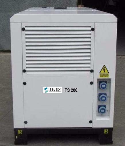 Microturbina Sílex a gás TS200